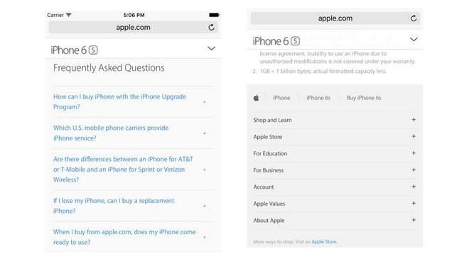 Apple checkout