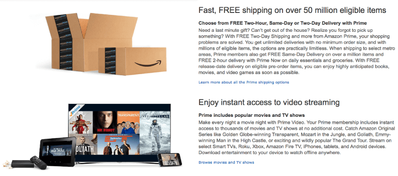 Amazon Prime - one of the world?s best premium ecommerce membership programs